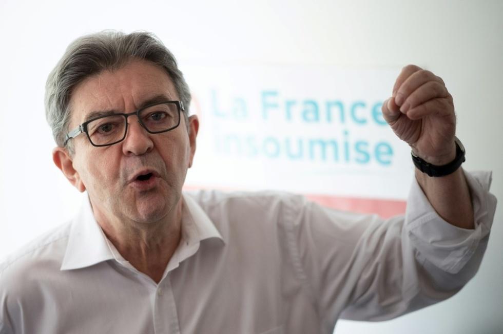 Une boulette de BFMTV sur les résultats d'un sondage fait voir rouge à Jean-Luc Mélenchon