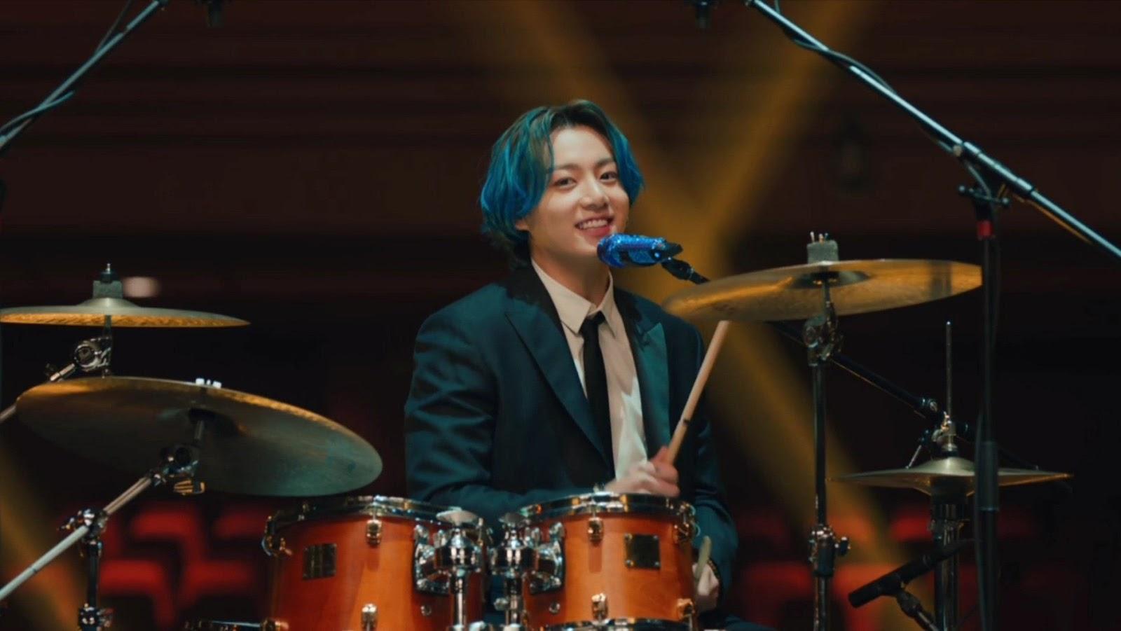 microfono jungkook azul bts
