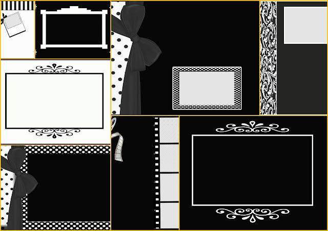 Blanco y Negro: Álbum de Fotos para tu Primera Comunión para Descargar Gratis.
