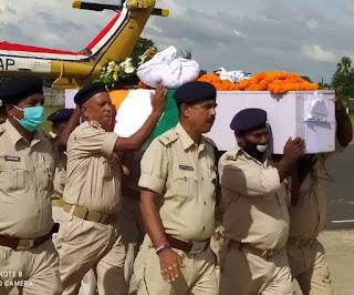 झारखंड में नक्सलियों से एनकाउंटर में शहीद हुए मुंगेर के डिप्टी कमांडेंट, परिवार बोला- बेटे पर गर्व