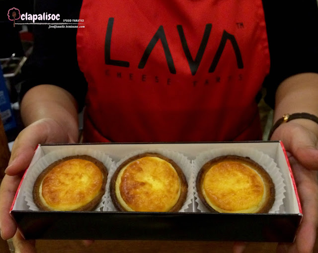 Lava Cheese Tarts SM Aura