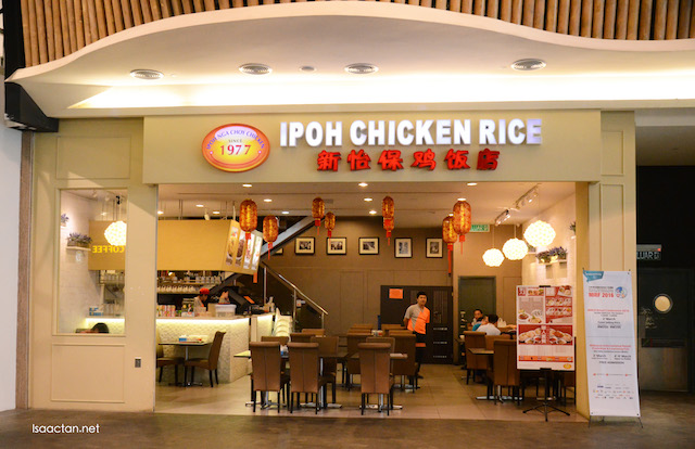 1977 Ipoh Chicken Rice @ Midvalley Megamall