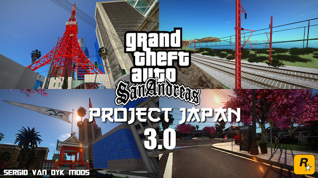 Project Japan 3.1 New Update For GTA San Andreas