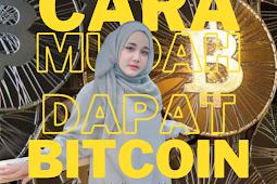 Cara Mudah Dapat Bitcoin Hanya Dari Blog Bisa Withdrawal Setiap Hari