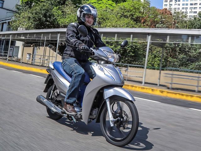 Honda Biz 125 2020 Prata