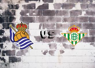Real Sociedad vs Real Betis  Resumen y goles