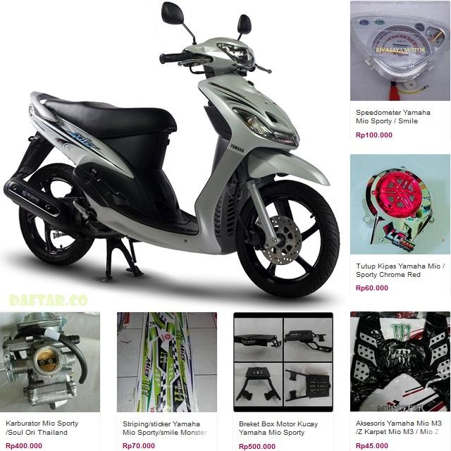 Sparepart Yamaha MIO