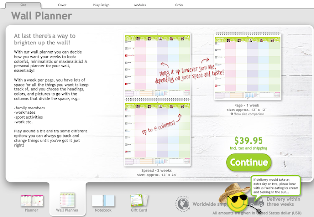 personal planner back to school