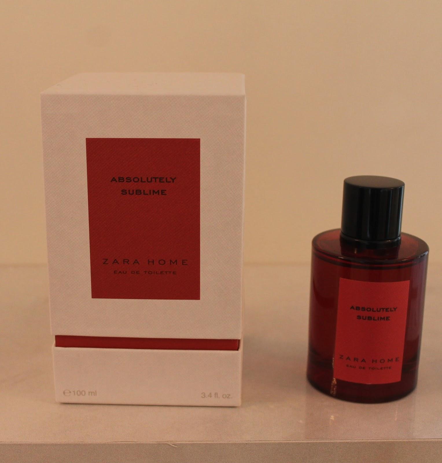 Zara Home Personal Fragrances Launch