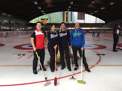Sergio Vilela abre temporada com bons resultados no curling