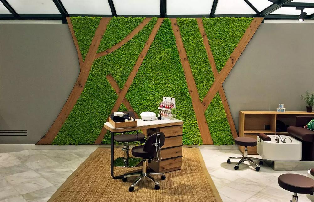 rumput hiasan dinding