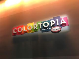 Colortopia Epcot Entrance Sign