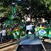 Manifestantes fazem ato em apoio ao governo Bolsonaro em Pirassununga