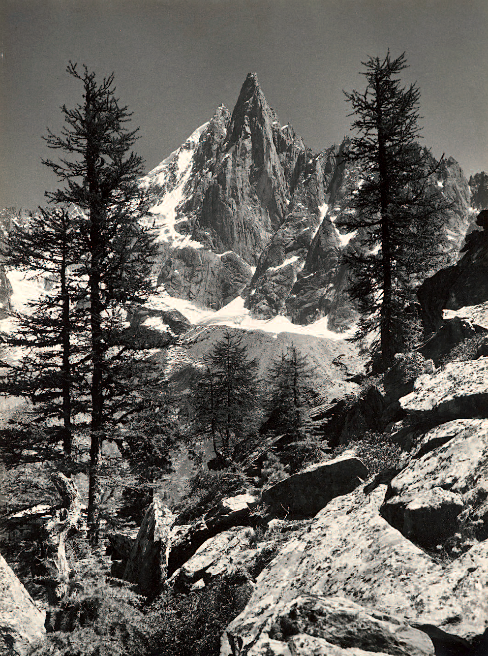Tioga Pass  by Edgar Payne   Paper Print Repro