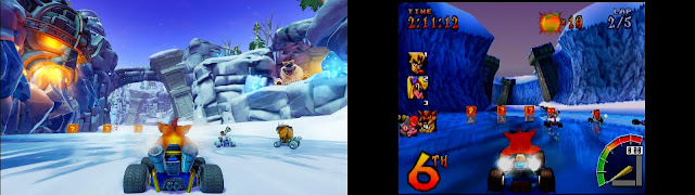لعبة Crash Team Racing Nitro-Fueled تحصل على عرض جديد لطريقة اللعب من جهاز PS4