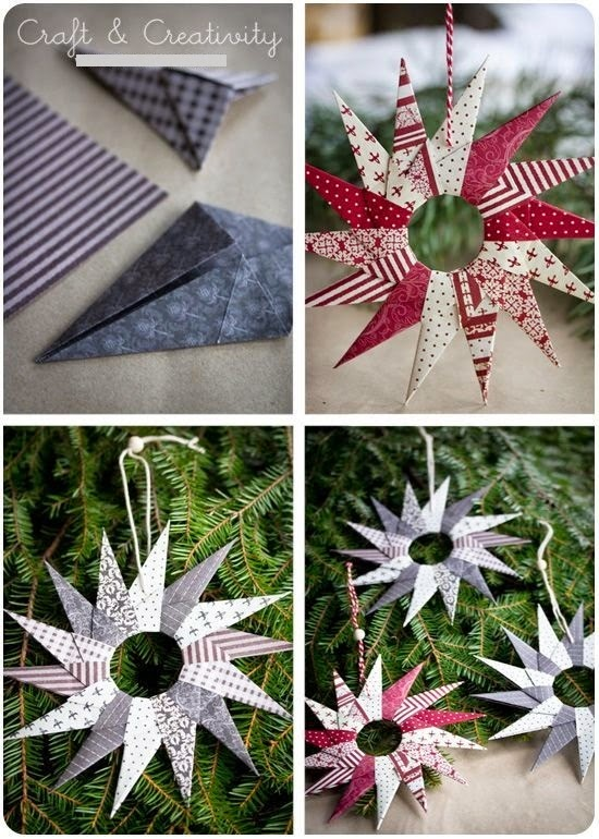 The following below are various examples of handicraft ideas made with utensils from paper, various paper creations