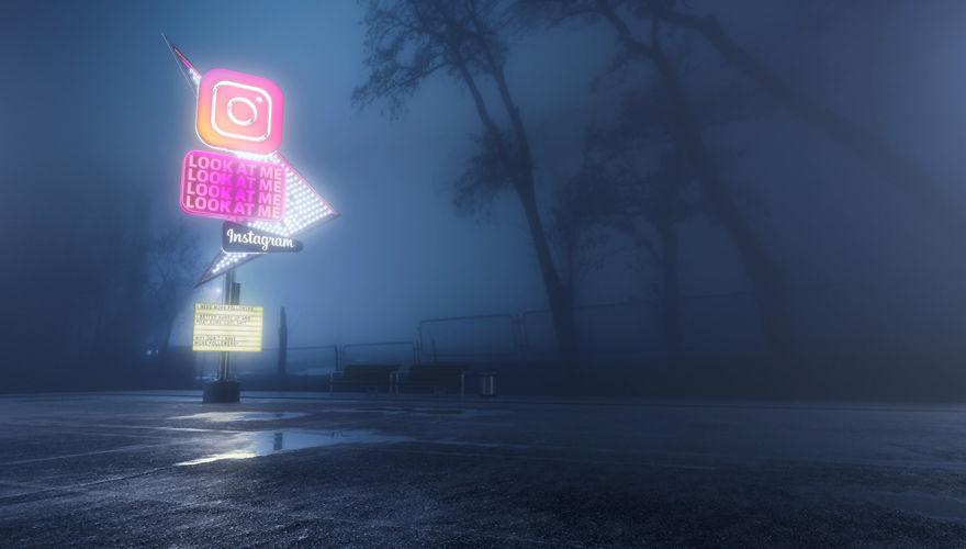Amerikalı Sanatçının Sosyal Medya Logoları ile Sosyal Medyanın Sonunu Anlattı!