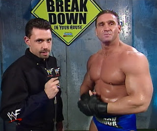 WWF - Breakdown 1998: In Your House 24 - Michael Cole interviews Ken Shamrock