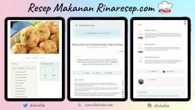 Informasi Resep Detail dan Lengkap Rinaresep.com