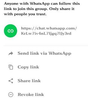 Whatsapp group chat invite kaise kare 4