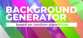 برنامج, إحترافى, لإنشاء, تصميمات, مذهلة, لصور, الخلفية, واللافتات, والشعارات, Background ,Generator