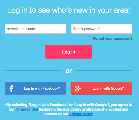Dating login