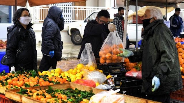 """Πρόστιμα """"δηλητήριο"""" στην Πελοπόννησο:  5.000 ευρώ σε πωλητή λαϊκής αγοράς - 3.000 ευρώ σε καφέ-παντοπωλείο"""