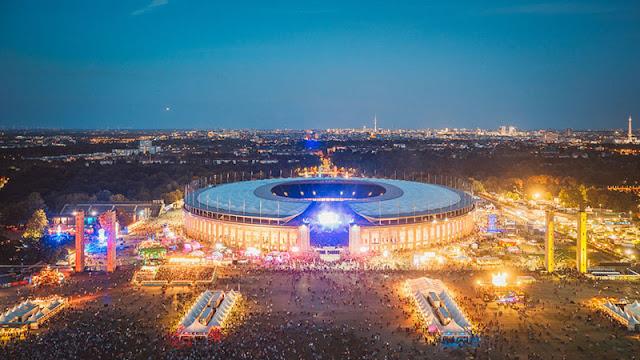 Festival de música Lollapalooza em Berlim em setembro