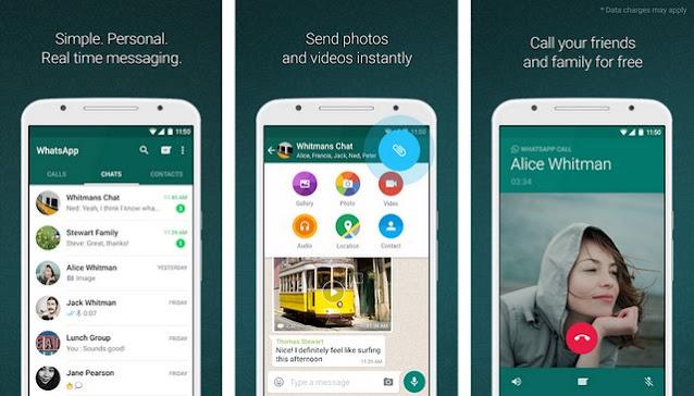 WhatsApp - أفضل تطبيقات لإجراء مكالمات مجانية للاندرويد