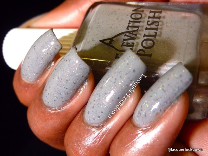 Lacquer Lockdown - Elevation Polish, Elevation Polish Forest Collection, swatches, nail art stamping blog, Elevation Polish Shinlin Stone Forest