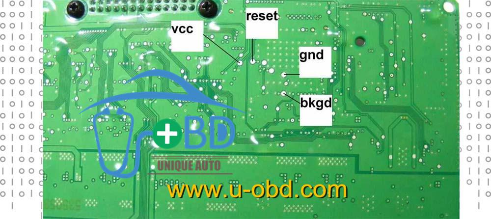 BMW FRM Module FRM3R 6135_9224596_SW115500_HW05 Dflash