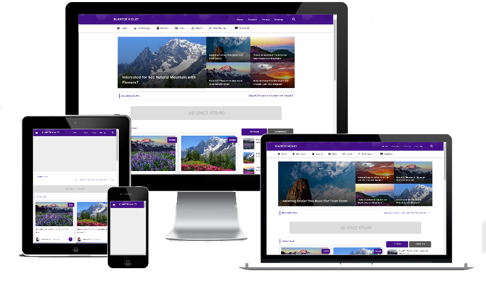 Blanter Violet Theme-Dhykashare
