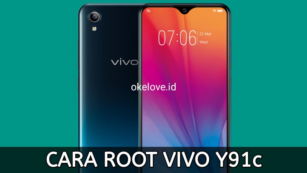 Cara Root Vivo Y91c