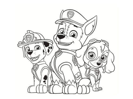 Tranh tô màu những chú chó cứu hộ 15