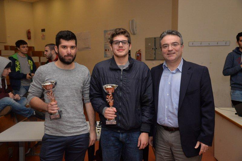 ECE School - NTUA  Grigoris Drakoulakos is the 2018–19 NTUA Chess Champion 12cfca9c9be