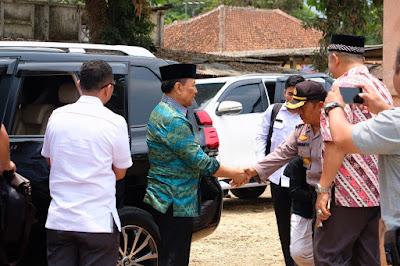 Sesaat sebelum jendral Wiranto di tusuk orang di banten