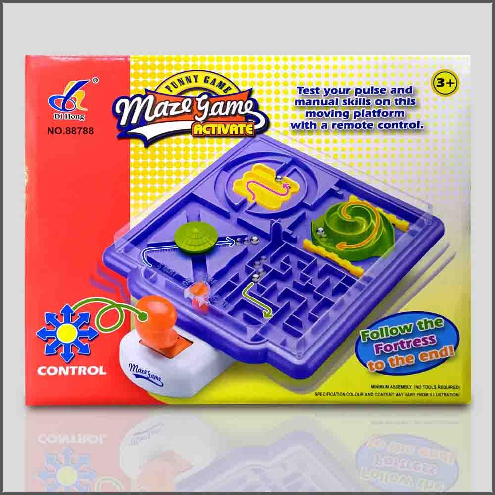 智力迷宫滾珠遊戲玩具 城堡彈珠迷宮遊戲 手搖迷宮 手搖平衡迷宮 迷宮遊戲 城堡迷宮彈珠台 動腦遊戲 平衡軌道 益智親子桌面遊戲 兒童小孩生日禮物 兒童小孩聖誕禮物