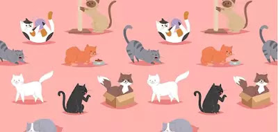 Q 1. Let's start with an easy one – how many cats can you see?