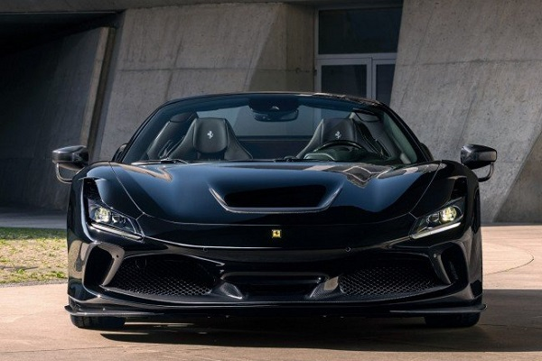 Interior Novitec Ferrari F8 Spider