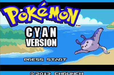 Pokemon Cyan GBA Imagen Portada
