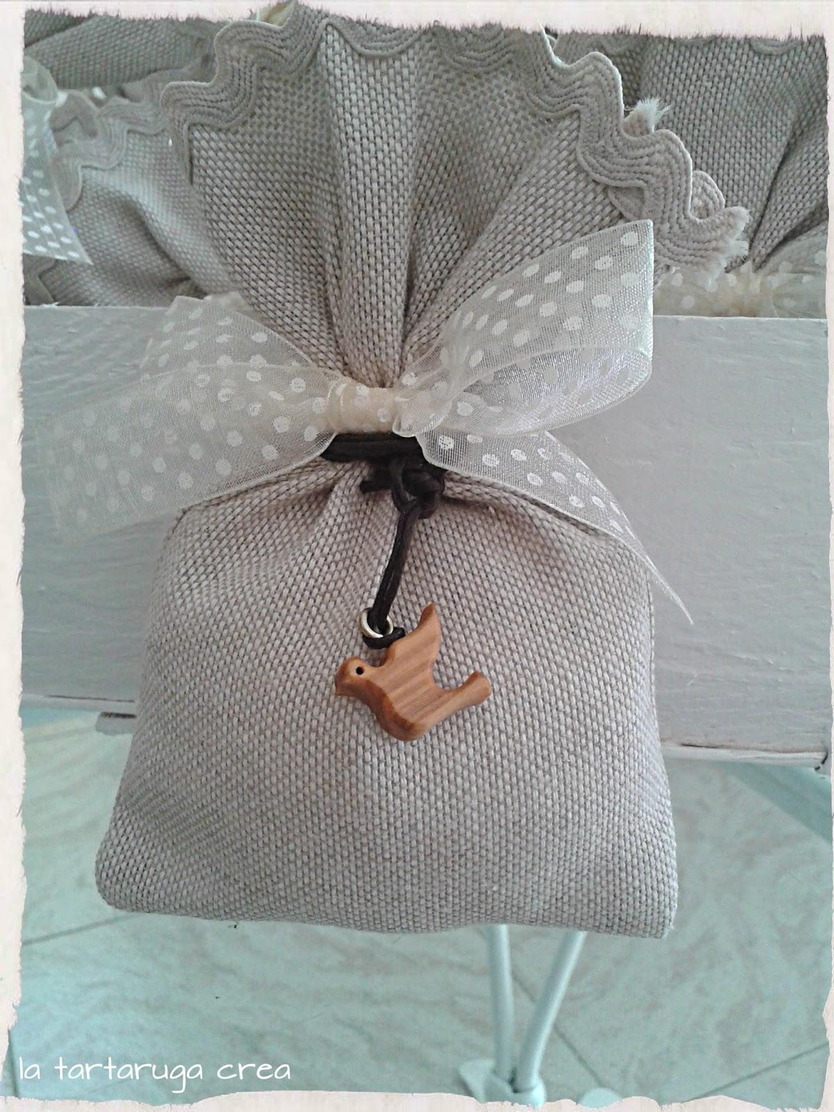 Famoso La tartaruga crea: Sacchetti porta confetti per la Santa Cresima NV23
