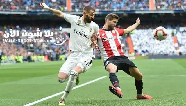 يستعد متصدر الليجا الاسبانية الملكي ريال مدريد اليوم لخوض مباراة جديدة ستكون امام اتلتيك بلباو علي ملعب سان ماميس