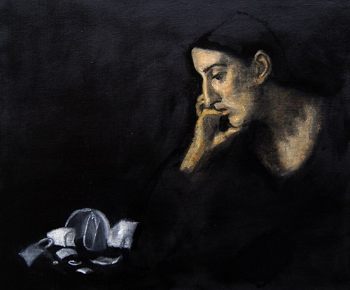 """Meditation"" by Adrien Eyraud 