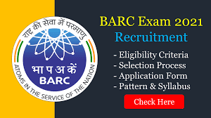 Recruitment 2021 for Engineers & Scientist In BARC