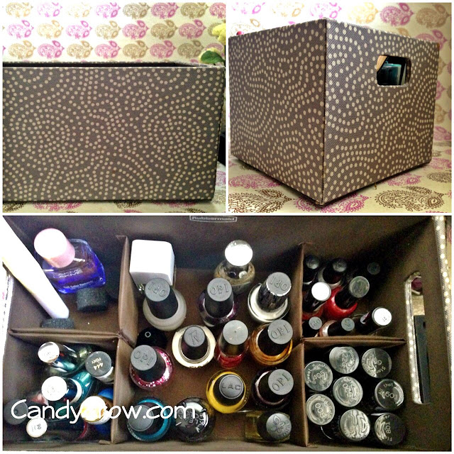 how to store beauty products and nail polish