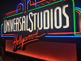 Universal Studios Hollywood Neon Sign