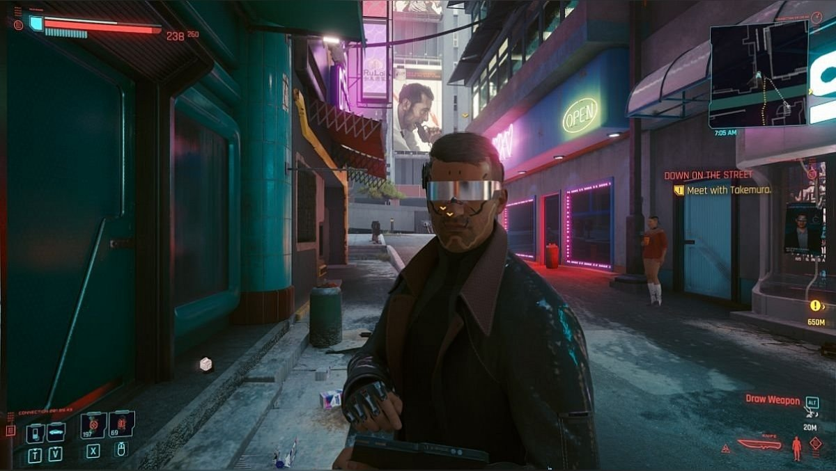 Alternate Character Lighting. Alternative lighting NPC