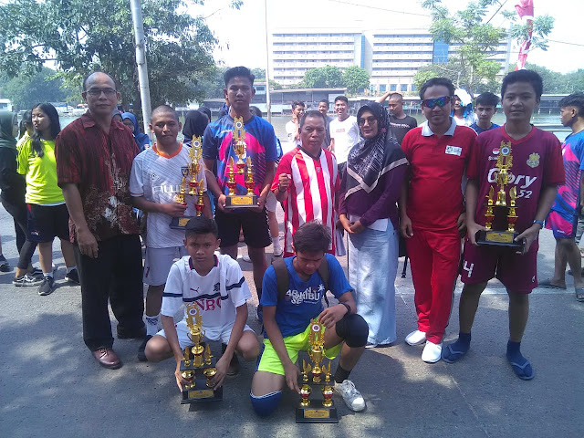 at Public High School 110 Juara II dan Harapan I Sepak Takraw HBKB Sunter