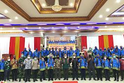 Dominggus Mandacan Hadiri Pelantikan Pengurus Daerah PIMIMARA Papua Barat Masa Bakti 2021-2026