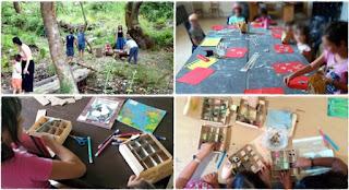 Ολοκληρώθηκαν τα καλοκαιρινά εργαστήρια για παιδιά στην κοινότητα Αλαγονίας